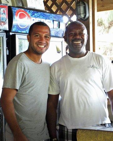 Trattoria da Piero at Las Rocas Resort: George and Wilson