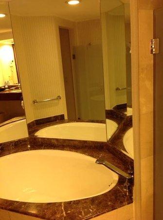 JW Marriott Hotel Quito : marble bath. nice!