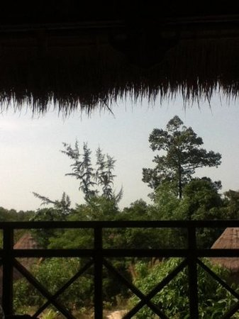 Bacoma : view from khmer house balcony