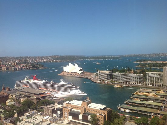 Shangri-La Hotel Sydney: View from Grand Harbour Suite