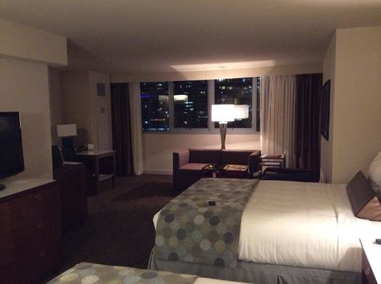 Wyndham Grand Chicago Riverfront : grande chambre