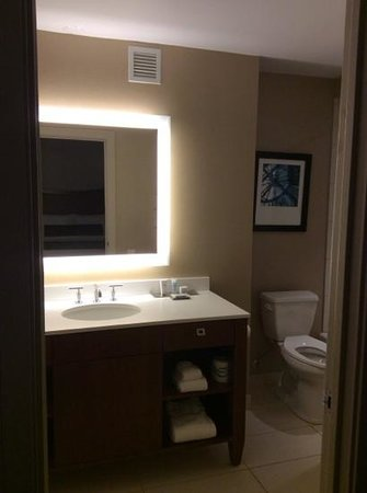Wyndham Grand Chicago Riverfront: grande salle de bains