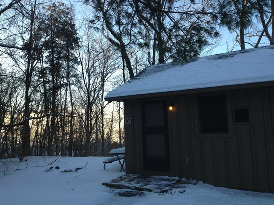 Hueston Woods Lodge and Conference Center : Cabin Exterior