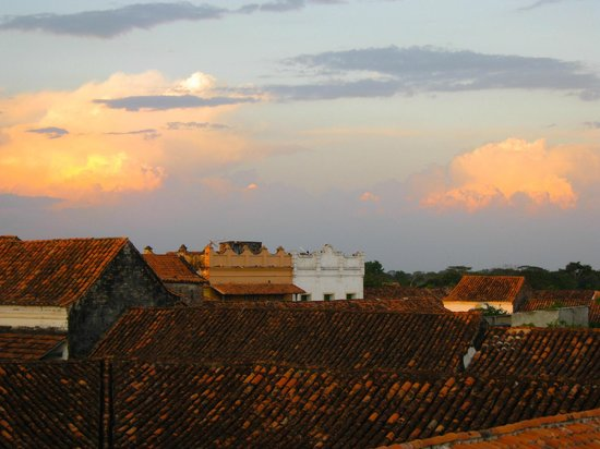 Bioma Boutique Hotel Mompox: View from the rooftop terrace