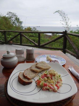 Finca Punta Ayampe: comedor