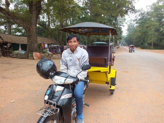 Pavillon d'Orient Boutique-Hotel: Mr Davuth - Cambodia's best tuk tuk driver