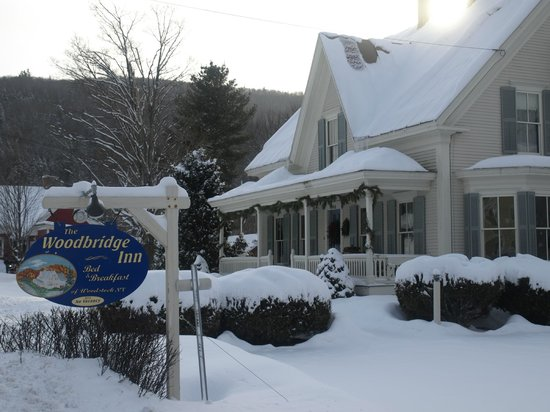 The Woodbridge Inn: A true four season inn...just 10 minutes from the Skyeship Gondola at Killington!