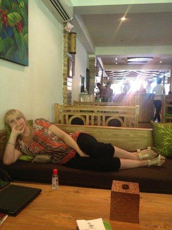 Bella Vista Coffee & Juice Bar : very relaxing !!