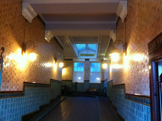 Midland Hotel: The Old Railway Entrance Hall