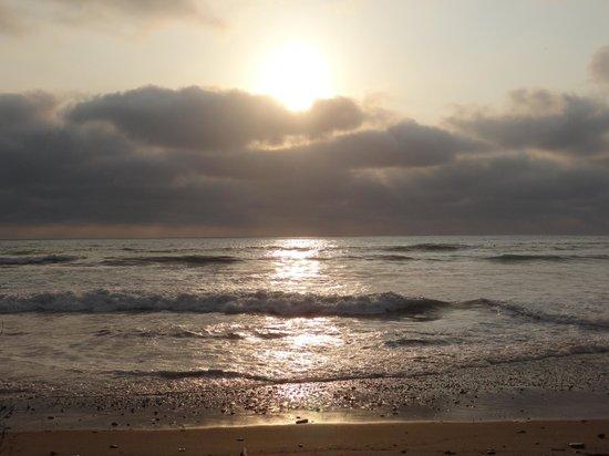 Finca Punta Ayampe: atardecer