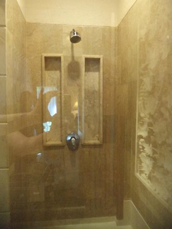Shower stall in room 1052 - Picture of Bali Tropic Resort and Spa ...