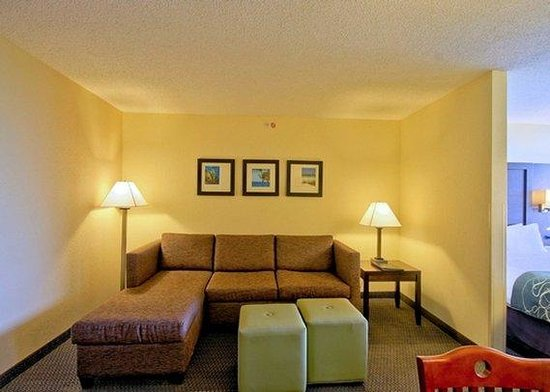 Comfort Suites Weston  - Sawgrass Mills South: Standard Suite Living Area