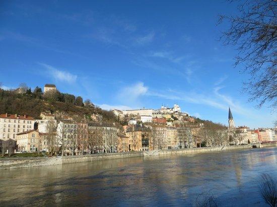 Quality Suites Lyon Confluence: Magnifique cette ville