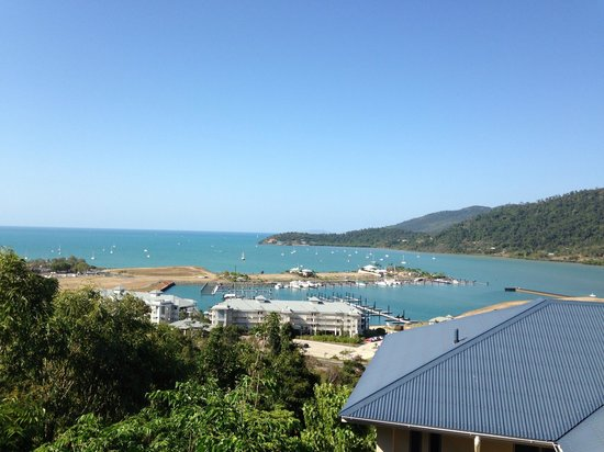 Peppers Airlie Beach : View from balcony