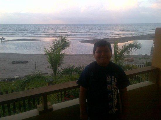 Hotel Capitan Beach: View from upstairs