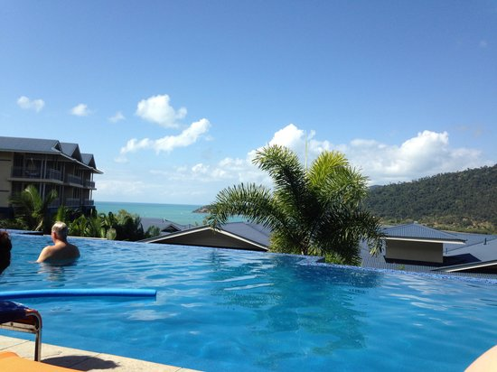 Peppers Airlie Beach: View from pool