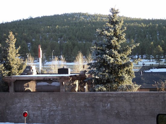 Canyon Motel & RV Park: View from room #10