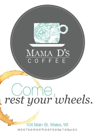 Mama D's Coffee: Our logo