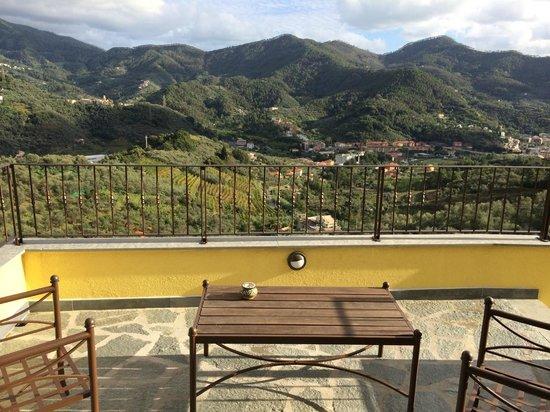Agriturismo Costa di Faraggiana : view from room's balcony