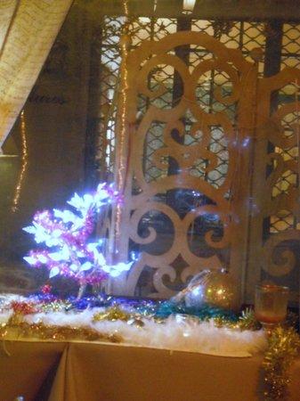 La Cour du Louvre : ambiente natalizio