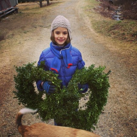 Angevine Farm: Poppys wreath