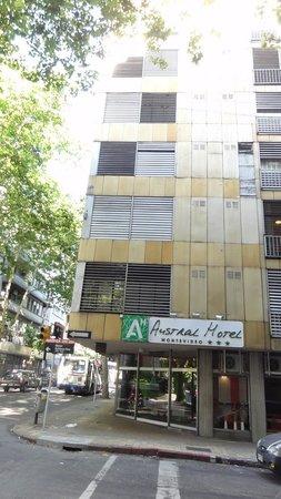 Austral Hotel Montevideo: fachada