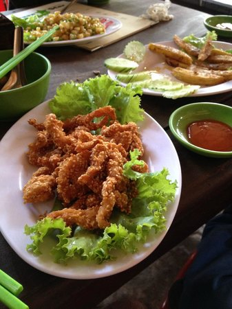 Green Star ( Not for Profit ): Fried Chicken with Sesame seads