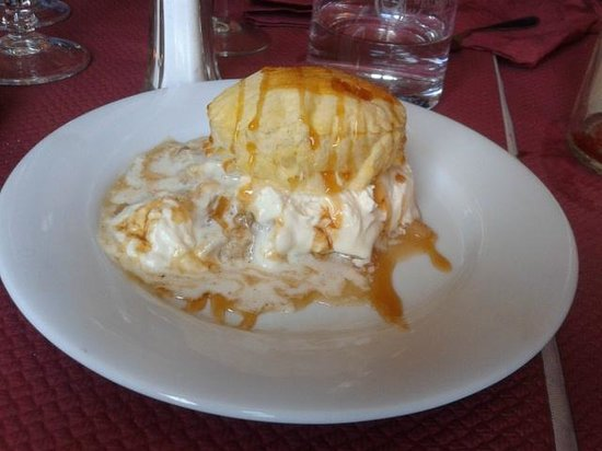Lou Nego Chin : dessert alle mele