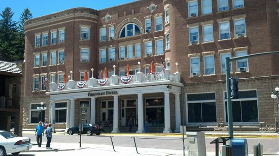 Silverado Franklin Historic Hotel & Gaming Complex: The hotel today