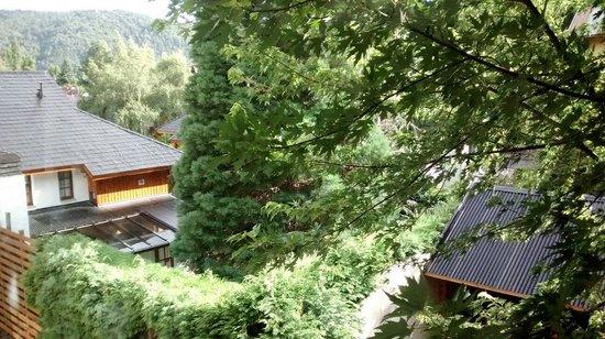 Las Golondrinas Apart Hotel: Vista desde nuestra habitación