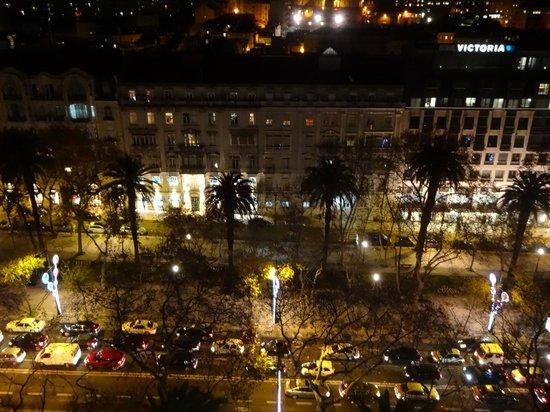 Tivoli Avenida Liberdade Lisboa: Rooftop view of Avenida da Liberdade at Christmas time
