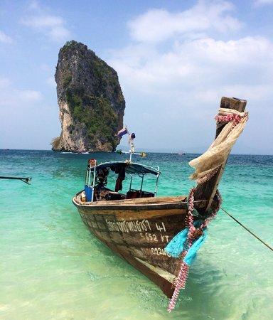 Poda Island: Arrivée en nong tail