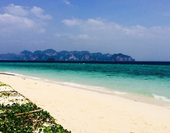 Poda Island: La plage