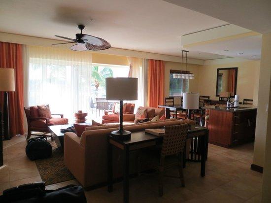 Marriott's Kauai Lagoons - Kalanipu'u: Living room