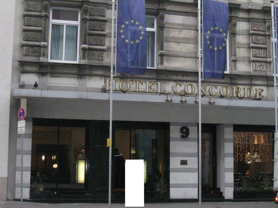Hotel Concorde: facade