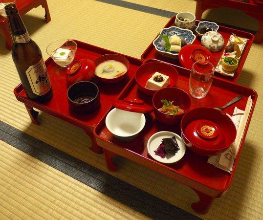 Ichijoin : Japanese veggie dinner