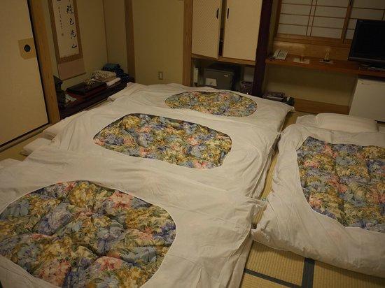 Ichijoin : our bedroom