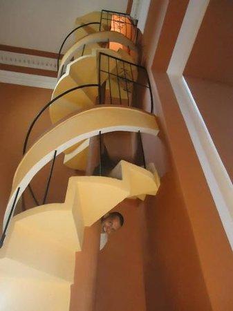 Iglesia de La Merced: Quite a staircase!
