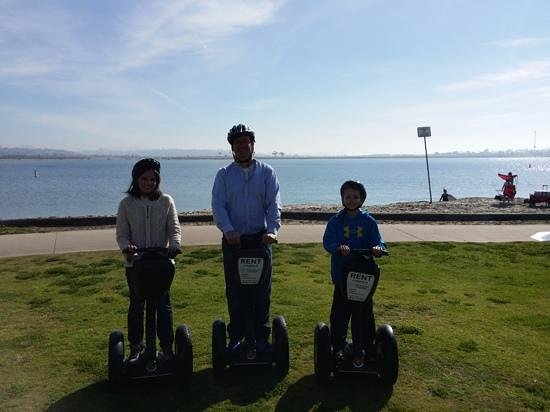 Segway of Pacific Beach: memories made, priceless