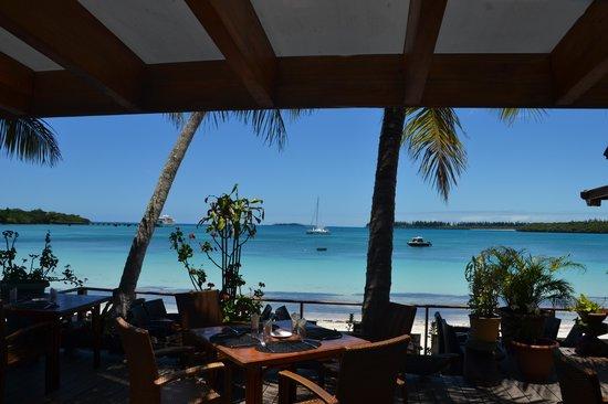 Hotel Kou-Bugny : Vu du restaurant