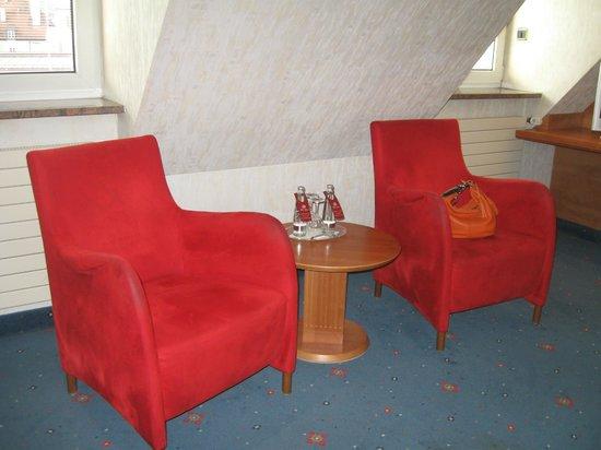Hotel Torbraeu: sitting area