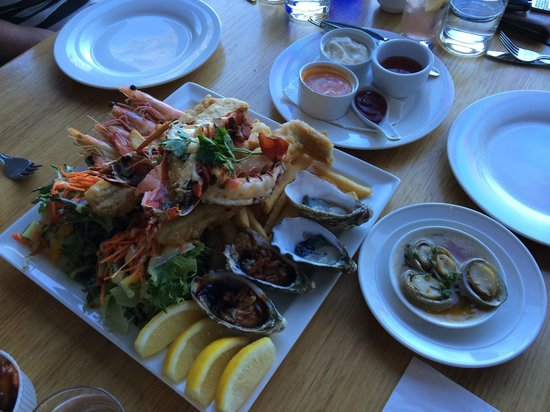 Aurora Ozone: Seafood Platter for Two ($99)