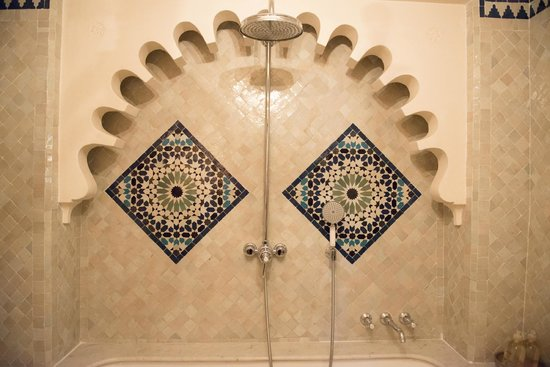 Hotel Nord-Pinus Tanger : The shower