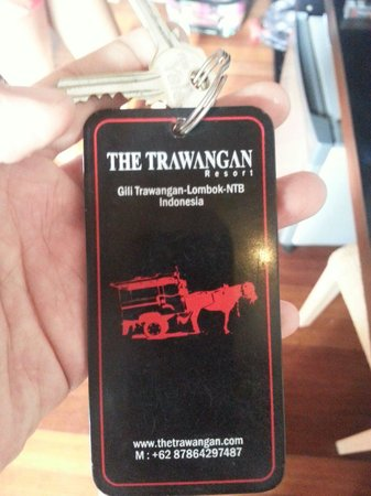 The Trawangan Resort: The key