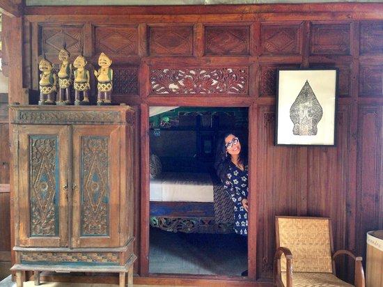 Yabbiekayu Homestay Bungalows: Entrance to the Bedroom