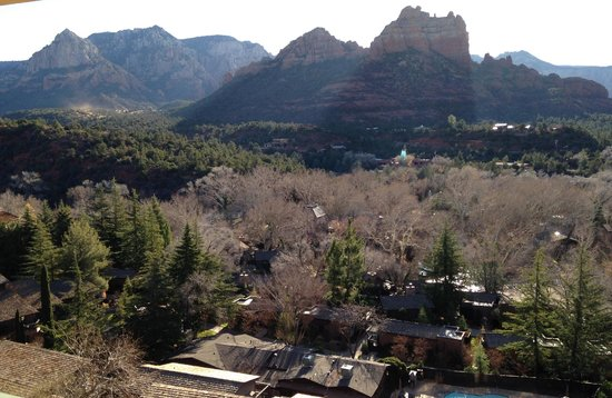 The Orchards Inn of Sedona: View from our room looking east