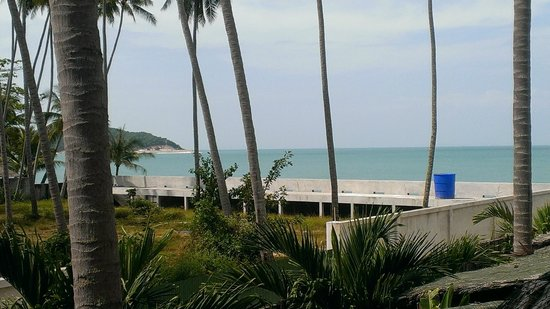 Lipa Bay Resort : View from 2nd Floor room