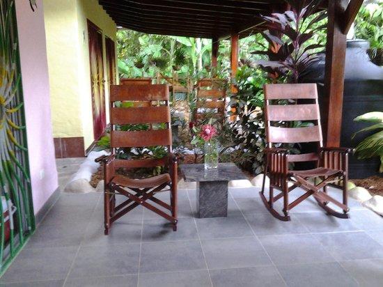 Casa Renada: entrada
