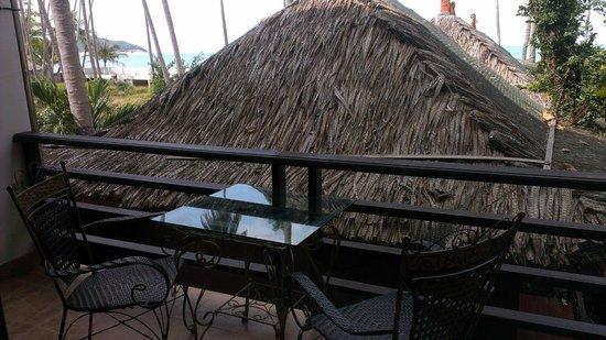Lipa Bay Resort : Balcony