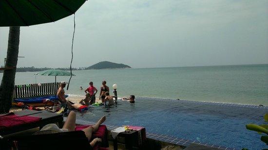 Lipa Bay Resort : View from Restaurant